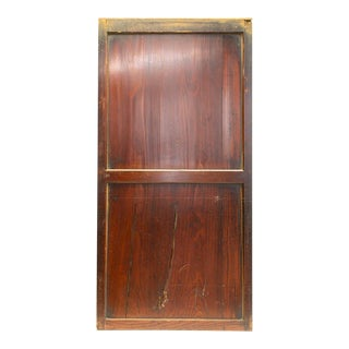 Japanese Cedar Sugi Fusuma Sliding Door For Sale