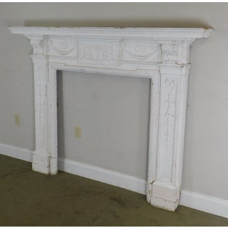 Antique Federal Style Fireplace Mantel Preview