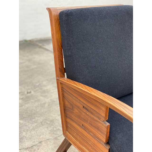 Wood Danish Cabinetmaker Rosewood Armchair For Sale - Image 7 of 13