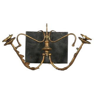Late Victorian Brass Sconces For Sale