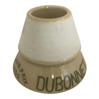 "1900's French ""Dubonnet"" Porcelain Match Striker For Sale"