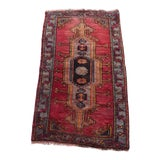 Image of Hand Knotted Door Mat, Entryway Rug, Bath Mat, Kitchen Decor, Small Rug, Turkish Rug For Sale