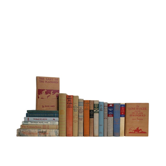 Sunset Skies Western Heritage : Set of Twenty Decorative Books For Sale
