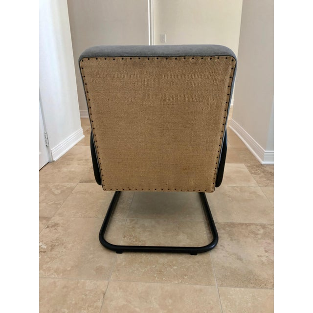 2010s Mid Century Modern Kem Weber Style Springer Accent Chairs- A Pair For Sale - Image 5 of 7
