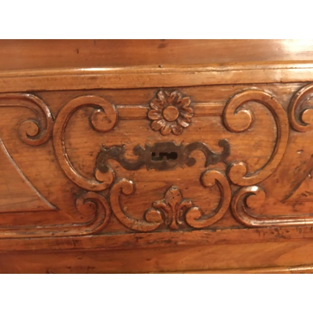 French Louis XV Provencal Period Four Drawer Chest For Sale - Image 10 of 12