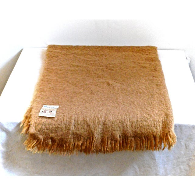 Textile Scottish Mohair Throw For Sale - Image 7 of 8