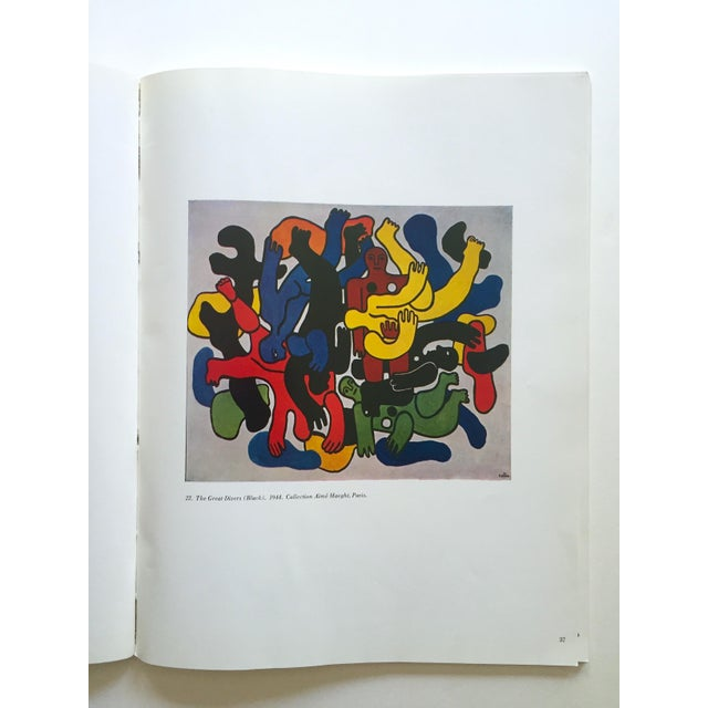 """Fernand Leger Rare Vtg 1962 Lmtd Edtn """" Five Themes & Variations """" Guggenheim Museum Exhibition Catalogue Collector's Art Book For Sale In Kansas City - Image 6 of 13"""