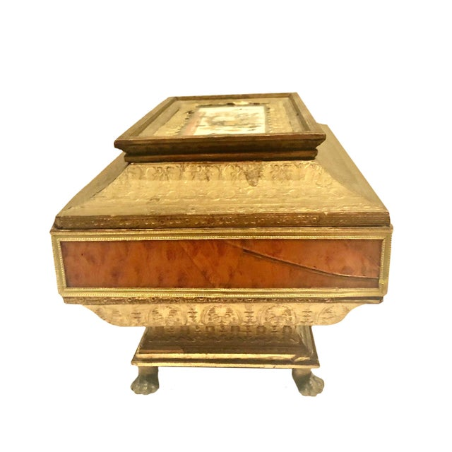 Early 19th Century Neoclassical Style Work Box For Sale In Tampa - Image 6 of 9