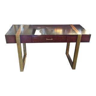Handsome Contemporary Desk For Sale