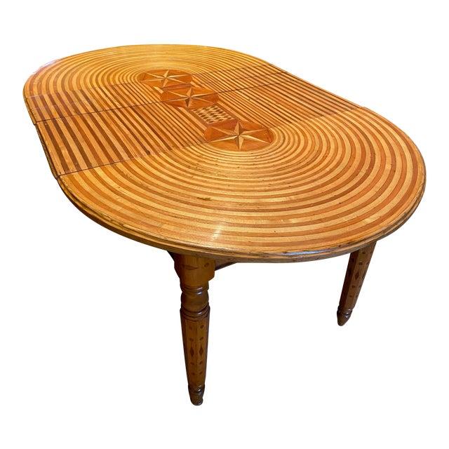 American Folk Art Table For Sale