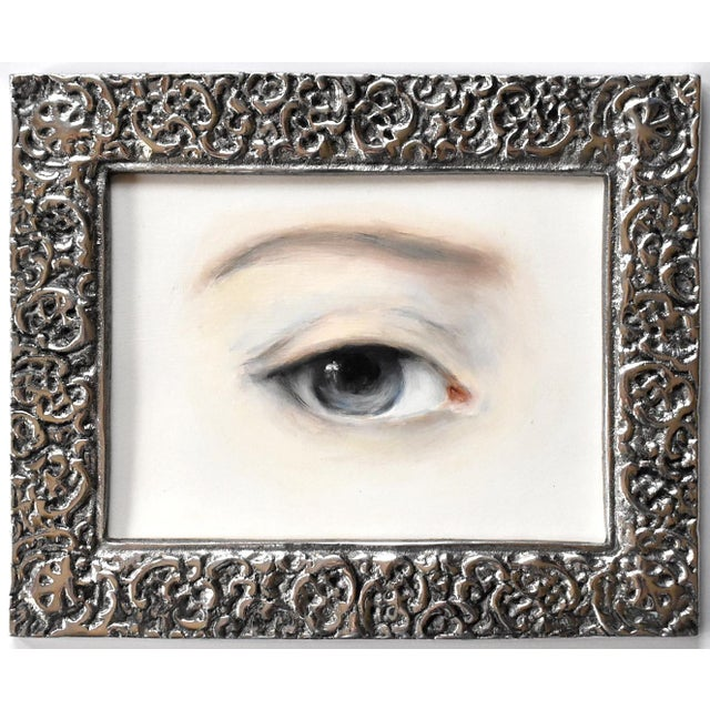 Susannah Carson Contemporary Lover's Eye Painting by Susannah Carson For Sale - Image 4 of 4