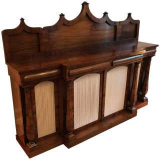 English William IV Rosewood Sideboard For Sale