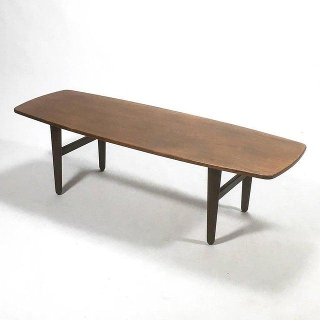 Brown Svend Madsen Coffee Table by K. Knudsen For Sale - Image 8 of 9