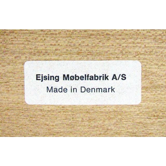 1960's Vintage Ejsing Møbelfabrik Teak Writing Desk For Sale - Image 10 of 11