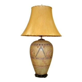 Vintage Navajo Urn Lamp For Sale