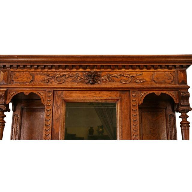 Antique Belgian Renaissance Buffet For Sale - Image 4 of 8