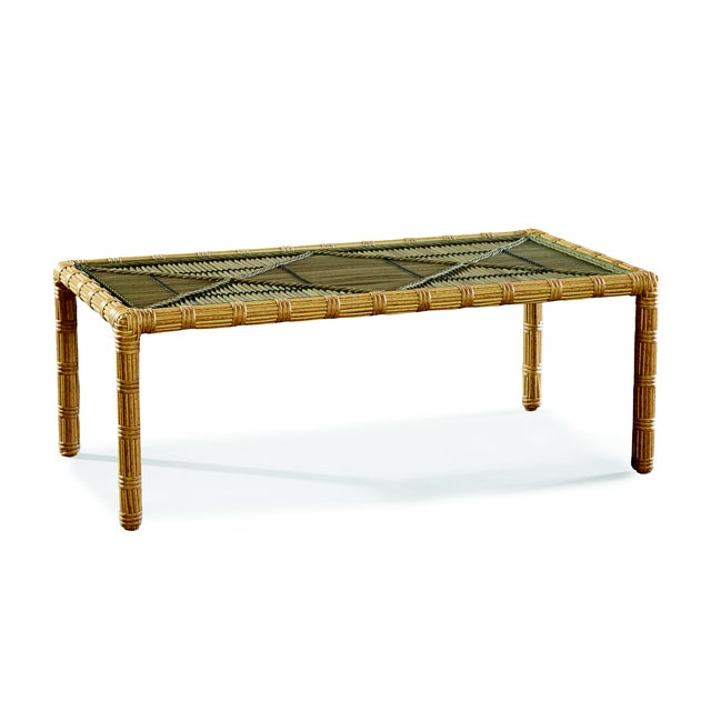 Contemporary Celerie Kemble - Rafter Outdoor Cocktail Table For Sale - Image 3 of 3