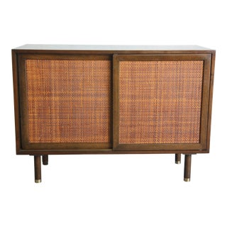 Harvey Probber Mahogany Cabinet For Sale