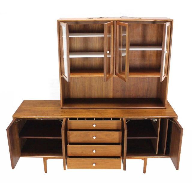 Drexel Drexel Declaration Two Part Cabinet For Sale - Image 4 of 9