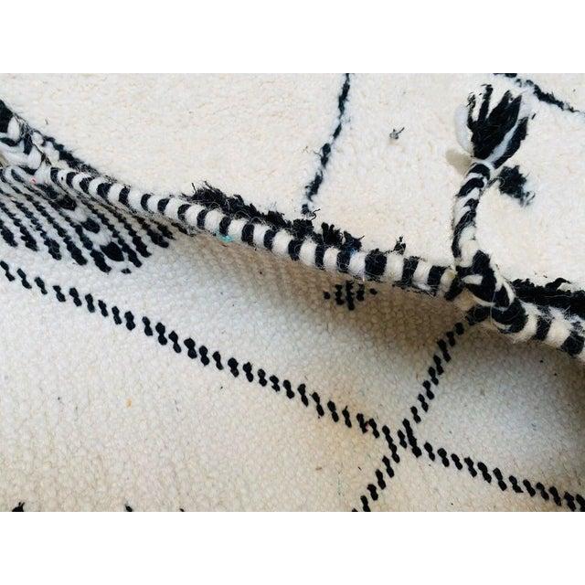 Textile Vintage Berber Moroccan Rug For Sale - Image 7 of 10