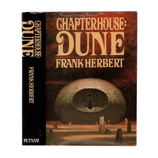"""1985 """"First Edition, Chapterhouse: Dune"""" Collectible Book For Sale"""