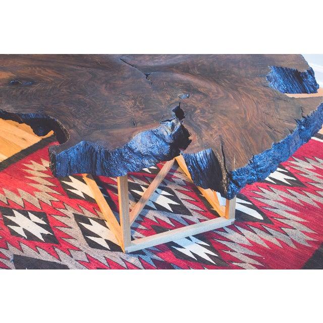 Black Walnut Root Burl Coffee Table - Image 3 of 10
