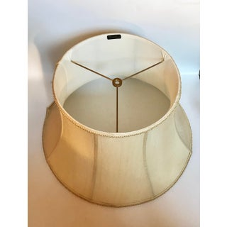 Large Bradburn Gallery Stretched Shantung Silk Bell Shaped Lamp Shade Preview
