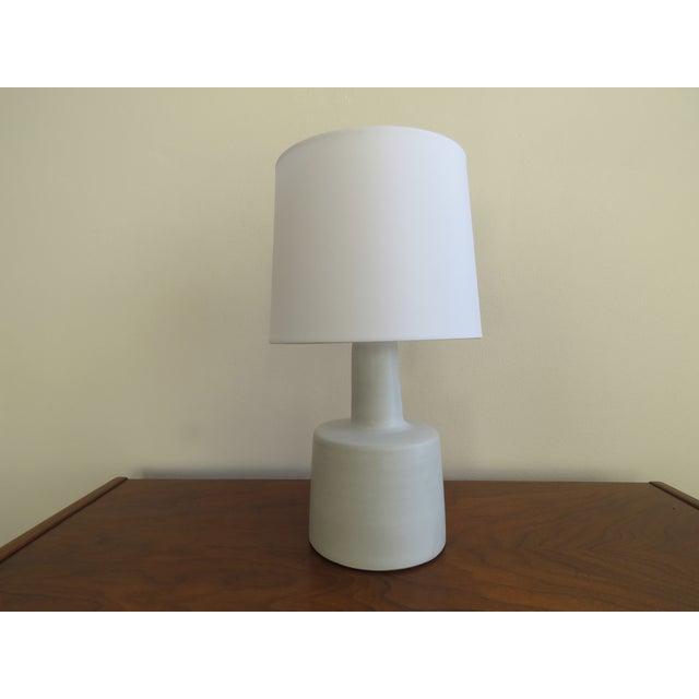 "Vintage Mid-Century Modern studio pottery lamp by Jane & Gordon Martz for Marshall Studios. Signed ""Martz"". Great classic..."