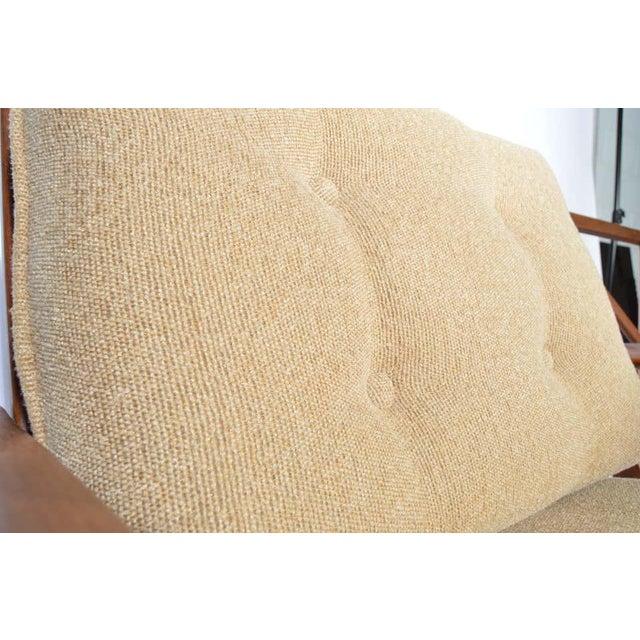 Ib Kofod-Larsen for Selig Denmark Lounge Chairs in Teak For Sale In Philadelphia - Image 6 of 11