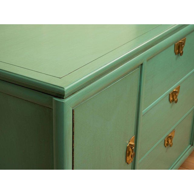 Thomasville Turquoise Chest - Image 3 of 11