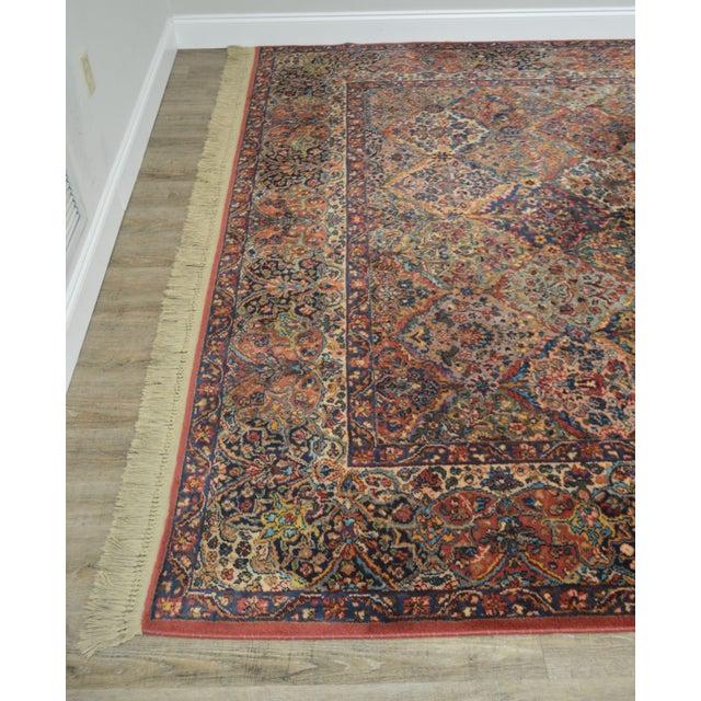 Karastan 8.8x12 Multicolor Panel Kirman Room Size Rug # 717 For Sale - Image 9 of 13