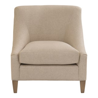 Contemporary Armless Accent Chair For Sale