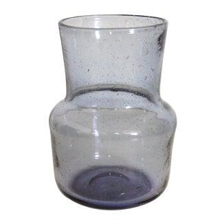 Vintage Swedish Art Glass Vase by Erik Höglund for Boda For Sale