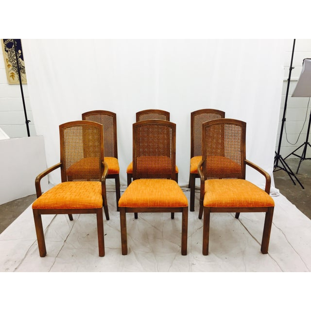 Vintage Dixie Mid-Century Dining Chairs - Set of 6 - Image 2 of 11