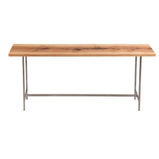 Rustic Studio Console Table For Sale