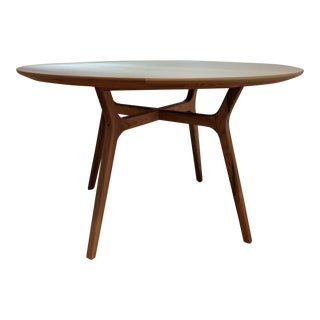 Danish Modern Rén Round Dining Table For Sale