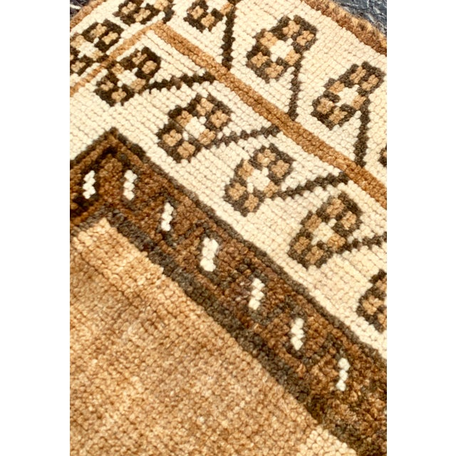 "1950's Vintage Persian Gabbeh Area Rug 4'x7'9"" For Sale - Image 11 of 13"