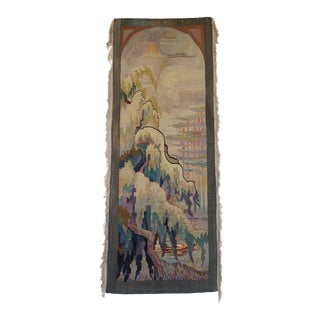 1915 Amsterdam School Pictorial Tapestry For Sale