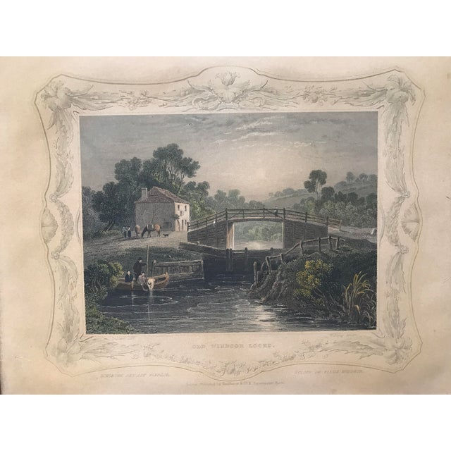 Antique Framed Prints by William Tombleson - Set of 4 - Image 6 of 11