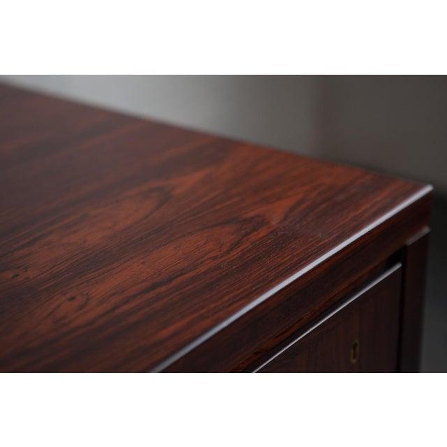 Gunni Omann Mid-Century Model 77 Rosewood Desk - Image 9 of 9