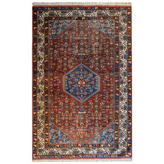 Gorgeous Early 20th Century Bidjar Herati Rug For Sale
