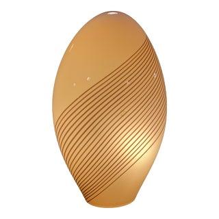 Murano Glass Table Lamp by Lino Tagliapietra For Sale