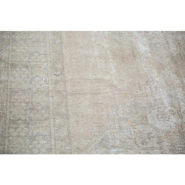 "Distressed Oushak Runner - 4'7"" X 10'8"" - Image 6 of 9"