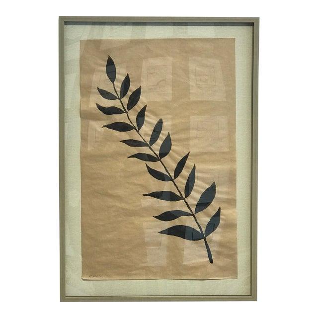 """R. F. Alvarez """"Branche Noir"""" Contemporary Painting For Sale"""