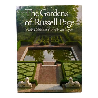 """""""The Gardens of Russell Page""""-Art Book-1991 For Sale"""