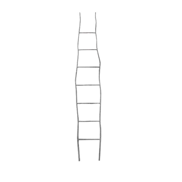 Oly Studio Oly Studio Hammered Iron Ladder For Sale - Image 4 of 4