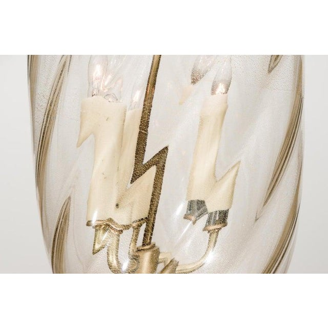 Barovier Murano Glass Chandelier For Sale In West Palm - Image 6 of 13