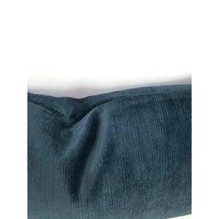 """F. Schumacher Antique Linen & Velvet Lumbar Pillow Cover - 11.5"""" X 20"""" Preview"""