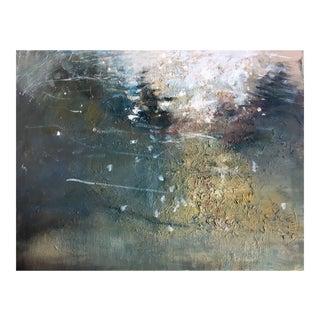 """""""Flurry"""" Oil Painting on Wood Panel"""