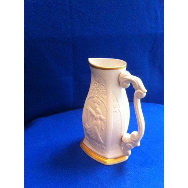 Mid 20th Century Mid-Century Limited Edition Lenox Porcelain Pitcher For Sale - Image 5 of 10